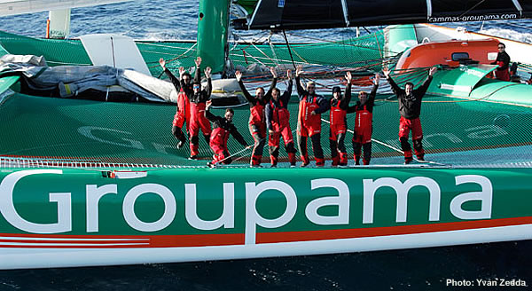 Grandi Record: Groupama  in codice